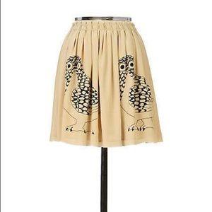 Anthro Corey Lynn Calter Owl Daysleeper Skirt
